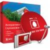 Комплект спутникового телевидения МТС №70, Красный, купить за 2 170руб.