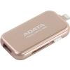 Usb-флешка Adata i-Memory AUE710-32G-CRG 32Gb, розовое золото, купить за 2 420руб.
