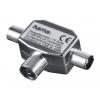 Разветвитель для ТВ-кабеля Hama H-42998 (на 2 ТВ, коаксиальный), купить за 460руб.