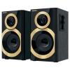 Sven SPS-619, 2x10Вт, чёрный/золотой, купить за 2 030руб.