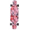 Скейтборд Y-Scoo Longboard Shark TIR 31 (408-Ch) Chaos красно-черный, купить за 3 200руб.