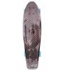 """Скейтборд Y-Scoo Big Fishskateboard metallic 27"""" (402H-Bb) черная бронза-синий, купить за 2 500руб."""