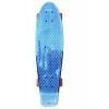 """Скейтборд Y-Scoo Big Fishskateboard metallic 27"""" (402H-Bl) сине-коричневый, купить за 2 500руб."""