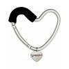 Buggygear (Багги Гир) Сердечко серебро/черное, крепление для сумок, купить за 910руб.
