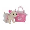 Игрушка мягкая Чихуахуа Балерина, с сумочкой розовая, купить за 1 245руб.