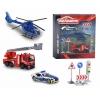 Набор игровой Majorette 2058585 (серия SOS, 2 машинки, вертолёт и 4 знака), купить за 830руб.