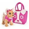 Игрушка мягкая Собачка Simba Chi-Chi love Модница (с сумочкой), купить за 2 685руб.