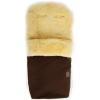 Конверт для новорожденного Kaiser Natura (овчина, 90x45 см, две молнии), коричневый, купить за 12 200руб.