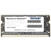 DDR-3 SODIMM Patriot 4096Mb pc-12800 (PSD34G1600L81S), купить за 2 010 руб.