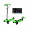 Самокат Y-Scoo Maxi City RT Shine Gagarin (светящиеся колёса) зеленый, купить за 3 450руб.