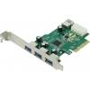 ���������� Speed Dragon FG-EU309A-1-BU0 USB 3.0 (3 ext USB3.0 + 1 xUSB 3.0 Internal, PCI-E), ������ �� 0���.