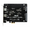 Контроллер ASUS USB 3.1 FRONT PANEL (SATA Express - 2x USB3.1a), купить за 2 370руб.