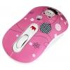 Мышка Crown CMM-928W Bear розовая, купить за 595руб.