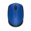 Мышку Logitech M171, беспроводная, USB, синяя, купить за 915руб.