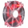 ����� COOLER MASTER R4-LUS-07AR-GP 200MM RED, ������ �� 1 180���.