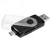 Устройство для чтения карт памяти Ginzzu GR-589UB черный, купить за 730руб.