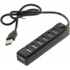 Orico USB2.0 Hub 7 port, чёрный, купить за 900руб.