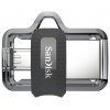 Usb-флешка SanDisk Ultra Dual Drive m3.0 16GB, Серая, купить за 680руб.