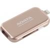Usb-флешка ADATA i-Memory AUE710-64G-CRG, розовое золото, купить за 3 040руб.