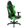 Игровое компьютерное кресло DXRacer Racing OH/RB1/OH/RB1/NE, черно-зеленое, купить за 32 990руб.