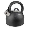 Чайник для плиты Rondell Infinity RDS-424 (BK) 2.7 л со свистком, купить за 2 155руб.