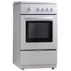Плита Vestel VC G56WH газовая, белая, 4 конфорки, духовка, купить за 11 390руб.