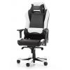 Игровое компьютерное кресло DXRacer Iron OH/IS11/NW, черное/белое, купить за 32 990руб.
