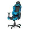 Игровое компьютерное кресло DxRacer Racing OH/RE0/NB черное/голубое, купить за 26 990руб.