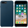 Чехол iphone Apple для iPhone 8 Plus/7 Plus Leather Case MQHQ2ZM/A, темный баклажан, купить за 4075руб.