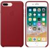Чехол iphone Apple для iPhone 8 Plus/7 Plus Leather Case MQHN2ZM/A, красный, купить за 3345руб.
