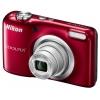 Цифровой фотоаппарат Nikon Coolpix A10, красный, купить за 5 699руб.