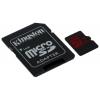 Kingston MicroSDHC class10 R/W 90/80 MB/s с адаптером, купить за 1 615руб.