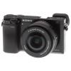 Цифровой фотоаппарат Sony Alpha A6000 Double Kit (SEL-1650 + SEL-55210), черный, купить за 44 299руб.