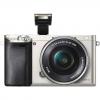 Цифровой фотоаппарат Sony Alpha A6000 Kit (SEL-1650), серебристый, купить за 36 699руб.
