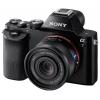 Цифровой фотоаппарат Sony Alpha A7 Kit (SEL-2870), черный, купить за 96 099руб.