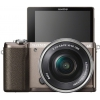 Цифровой фотоаппарат Sony Alpha A5100 Kit (SEL-1650), бронзовый, купить за 31 999руб.