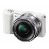 Цифровой фотоаппарат Sony Alpha A5100 Kit (SEL-1650), белый, купить за 41 899руб.
