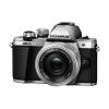 Цифровой фотоаппарат Olympus OM-D E-M10 Mark II Kit EZ-M1442 II R, серебристый, купить за 41 299руб.