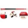 Кий для русского бильярда Cuetec Beginner CMF (2-pc), красный, купить за 2 800руб.