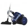 Пылесос Home Element HE-VC-1802, черный/синий, купить за 2 283руб.