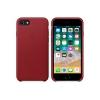 Чехол iphone Apple для iPhone 8 / 7 Leather Case MQHA2ZM/A, красный, купить за 3785руб.
