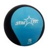 Мяч Starfit Pro GB-702, 5 кг, синий 1/4, Медбол, купить за 2 282руб.