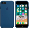 Чехол iphone Apple для iPhone 8/7 Silicone Case (MQGN2ZM/A), синий, купить за 2500руб.
