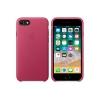 Чехол iphone Apple для iPhone 8/7 Leather Case MQHG2ZM/A, розовая фуксия, купить за 3775руб.
