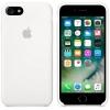 Чехол iphone Apple для iPhone 8/7 Silicone Case (MQGL2ZM/A), белый, купить за 2675руб.