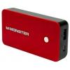Аккумулятор универсальный Внешний аккумулятор Monster Power Bank 5000 мАч, красный, купить за 1 780руб.