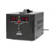 Стабилизатор напряжения Powerman AVS 500D (релейный, 220 В, 500 ВА), чёрный, купить за 1 780руб.