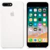 Чехол iphone Apple для iPhone 8 Plus / 7 Plus Silicone Case (MQGX2ZM/A), белый, купить за 2900руб.