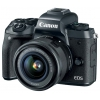 Цифровой фотоаппарат Canon EOS M5 Kit 15-45 IS STM, черный, купить за 61 620руб.
