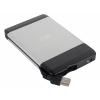 Корпус для внешнего жесткого диска AgeStar SUB2A5, серебристый, купить за 715руб.